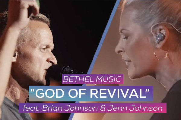 """God Of Revival"" by: Bethel Music"