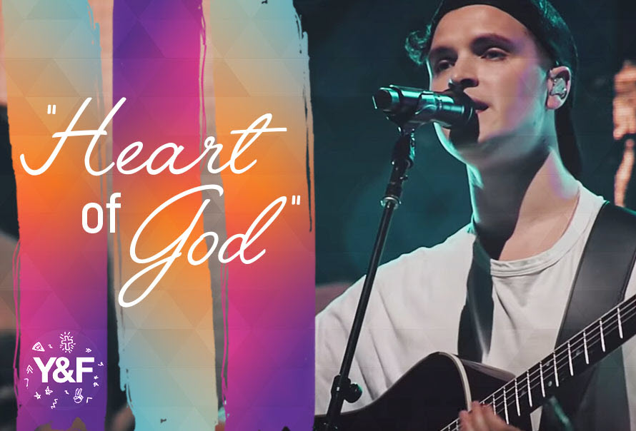 """""""Heart Of God"""" by: Hillsong Young & Free"""