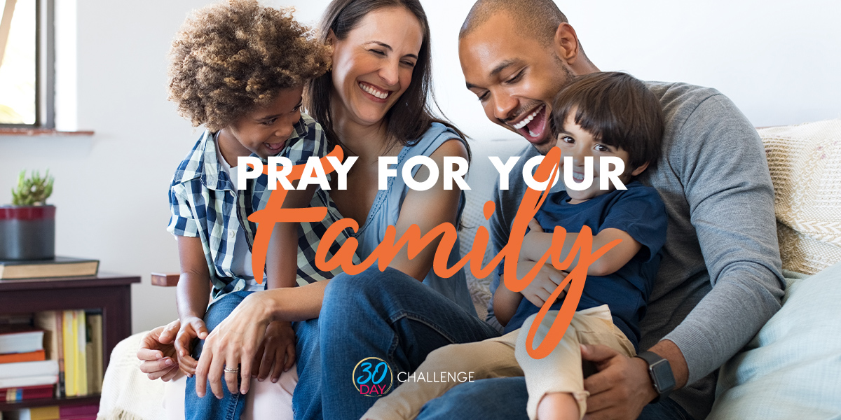 Pray for your family text