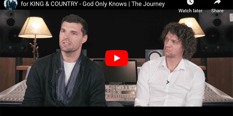 King & Country God Only Knows Artists Interview screenshots