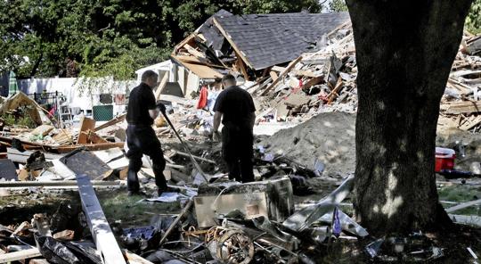 Massachusetts Gas Explosion Destroys Homes