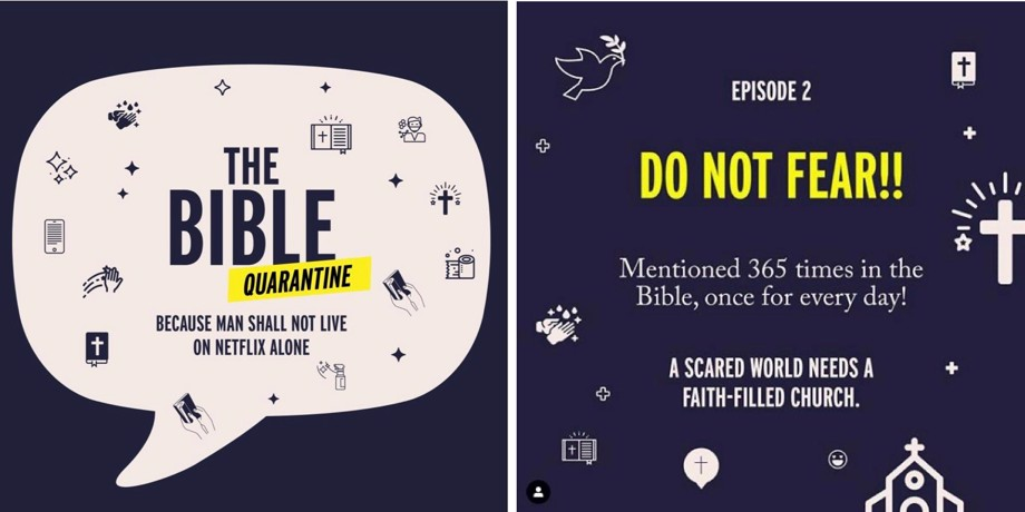 Bible Quarantine graphic
