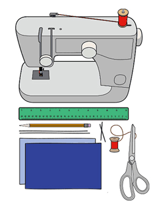 sewing machine and gear