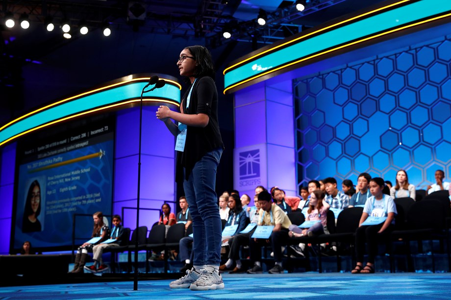 National Spelling Bee Contestant Shruthika Padhy
