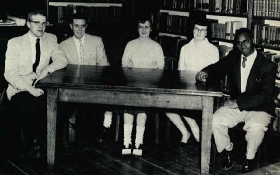 1957: James Parker, Sr. Sophomore Class Chaplain
