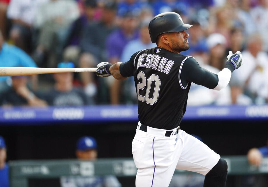 Colorado Rockies' Ian Desmond