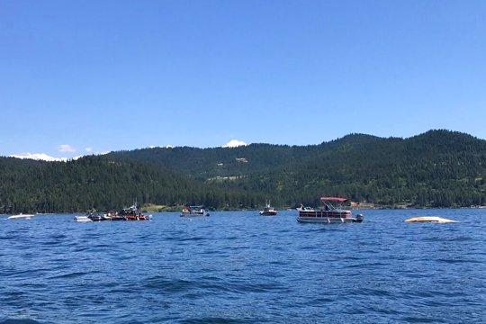 Lake Coeur d'Alene Plane Crash