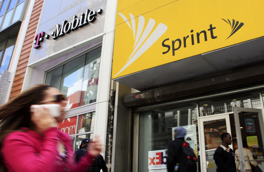 Sprint T-Mobile stores