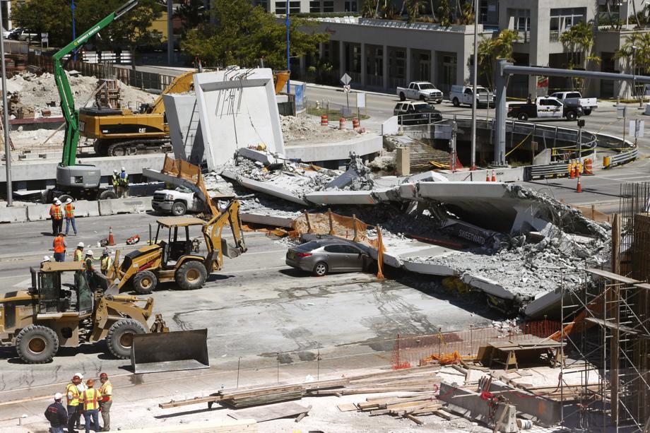 Bridge Collapse Miami