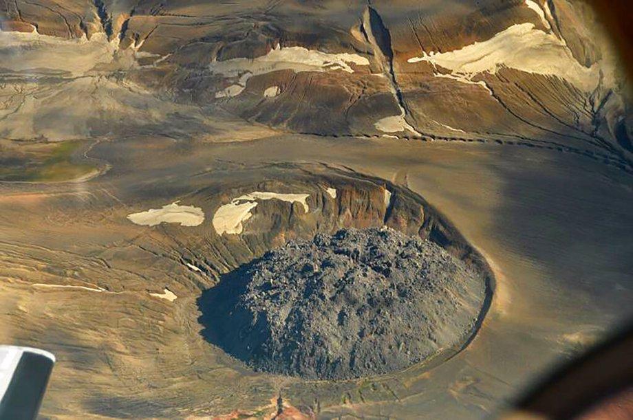 Lava Dome from Novarupta Volcano
