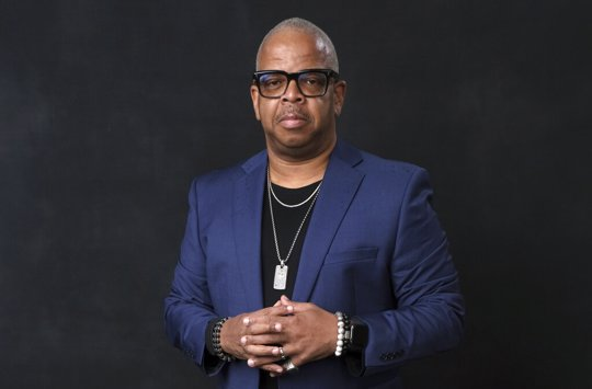 Terence Blanchard poses for a portrait at the 91st Academy Awards Nominees Luncheon