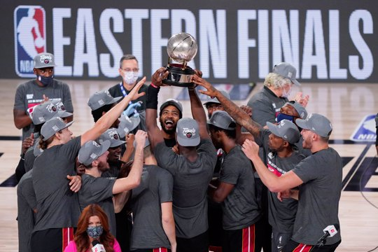 The Miami Heat win the 2020 Eastern Conference championship