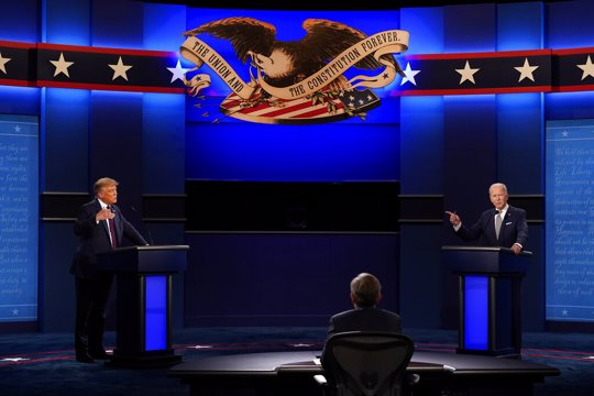President Trump, Former VP Biden face off in first presidential debate