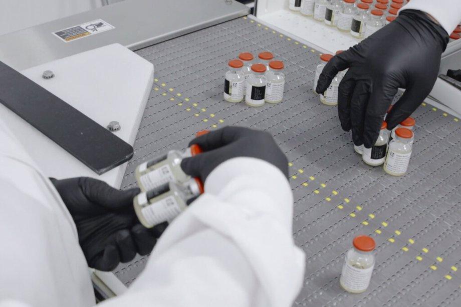 Making vaccine