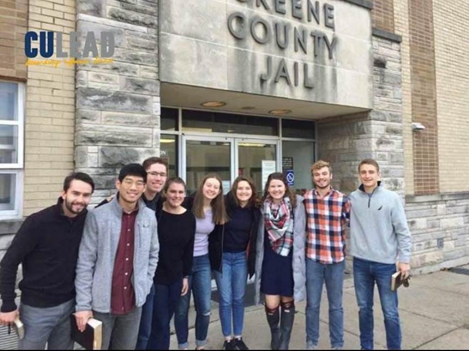 Jail ministry team from Cedarville University