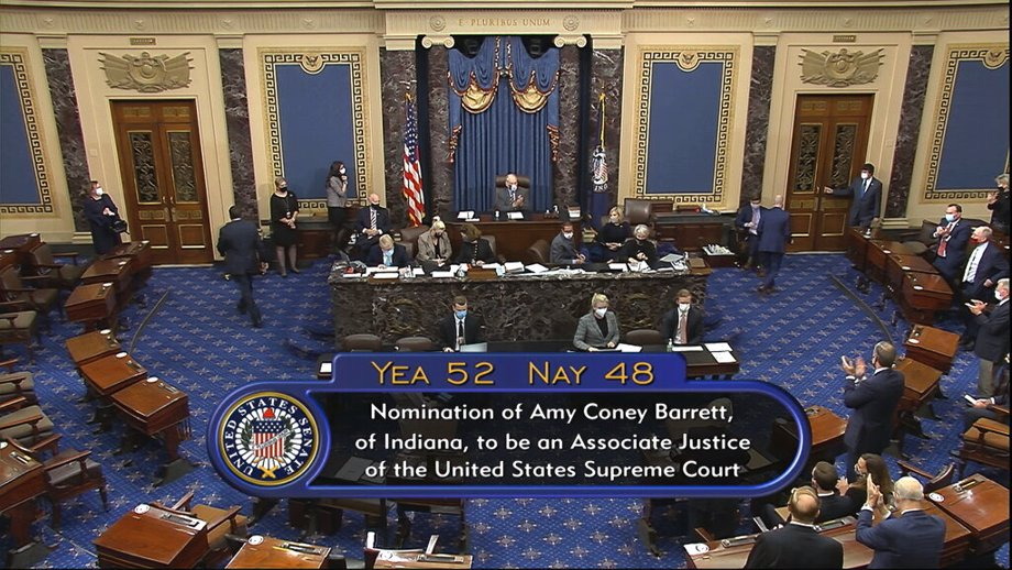 final senate vote