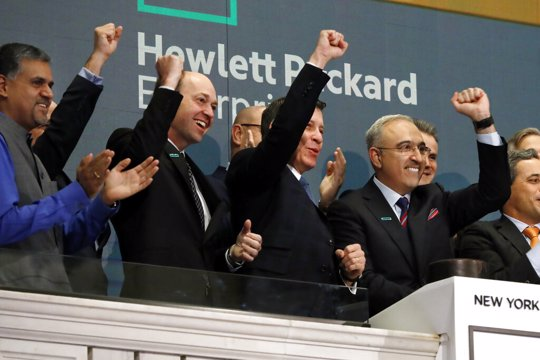 Hewlett Packard at NYSE