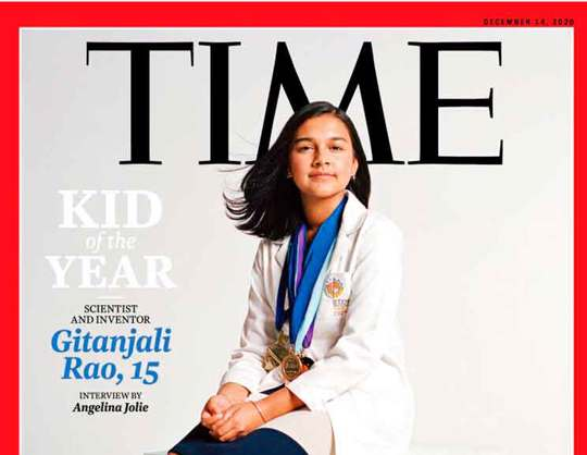 """Kid of the Year"" Gitanjali Rao"