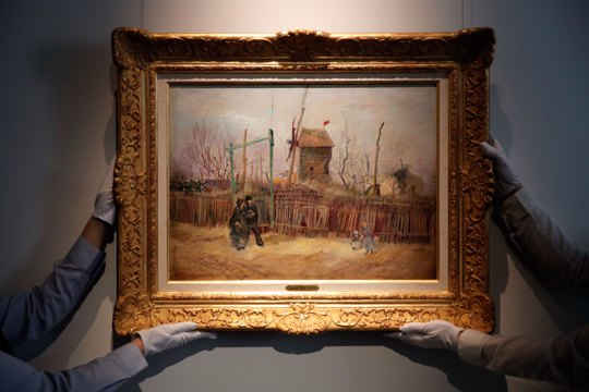 rarely seen Vincent van Gogh painting