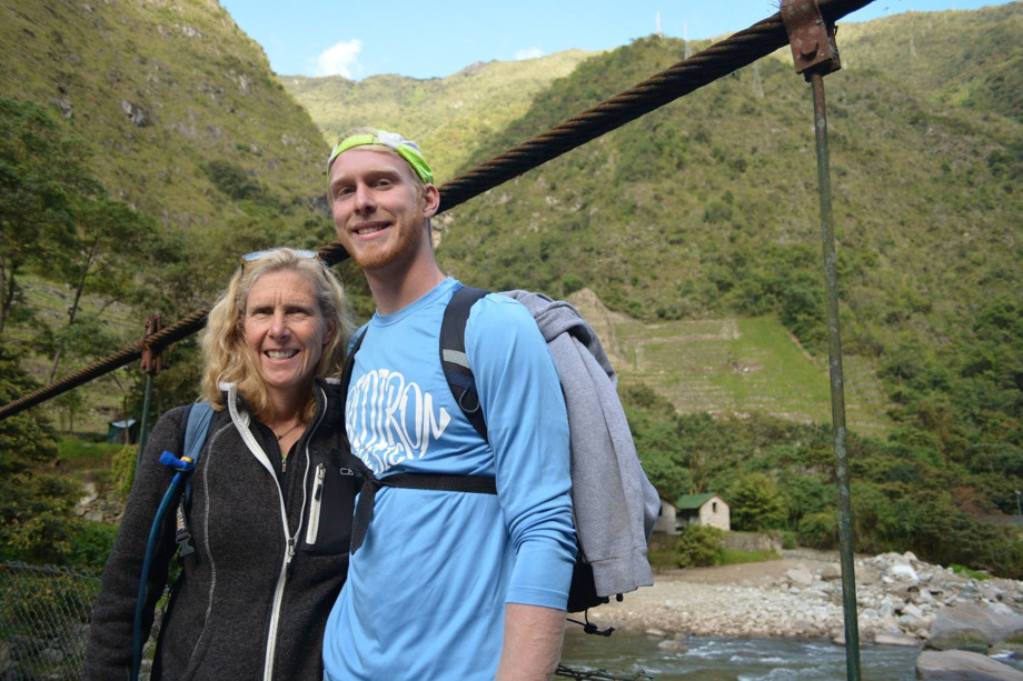 Karin and Justin Daun, a mother and son, hiked to Machu Picchu after a mission trip in Peru in 2017. The two returned to Peru for mission trips in 2018 and 2019 and hope to return in 2021.