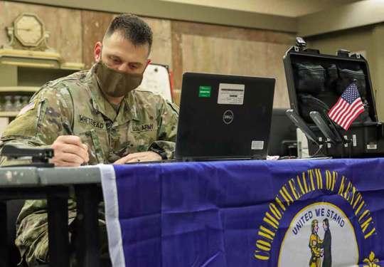 2LT Samuel Whitehead, Kentucky National Guard
