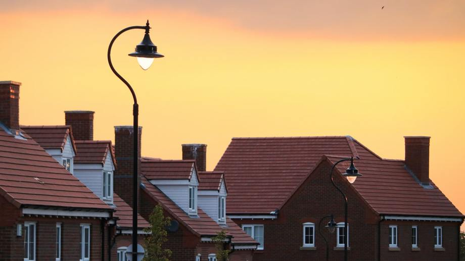 Homes in suburbs