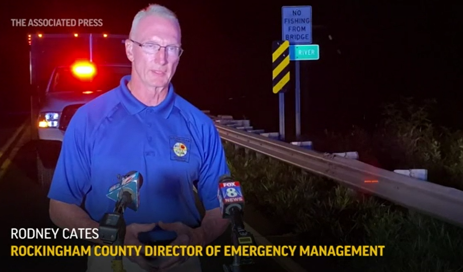 Three people are dead and two remain missing after a group floating down a North Carolina river on inflatable tubes went over a dam, authorities said. Rockingham County emergency officials said four others were rescued.