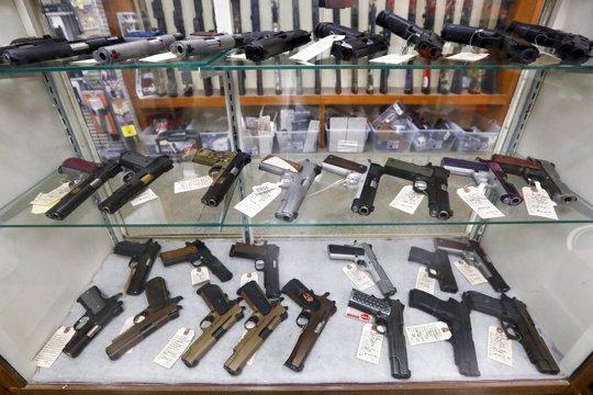 Guns at store