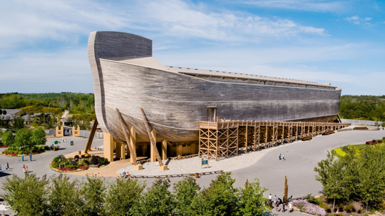 Ark Encounter 'life-size replica of Noah's Ark'