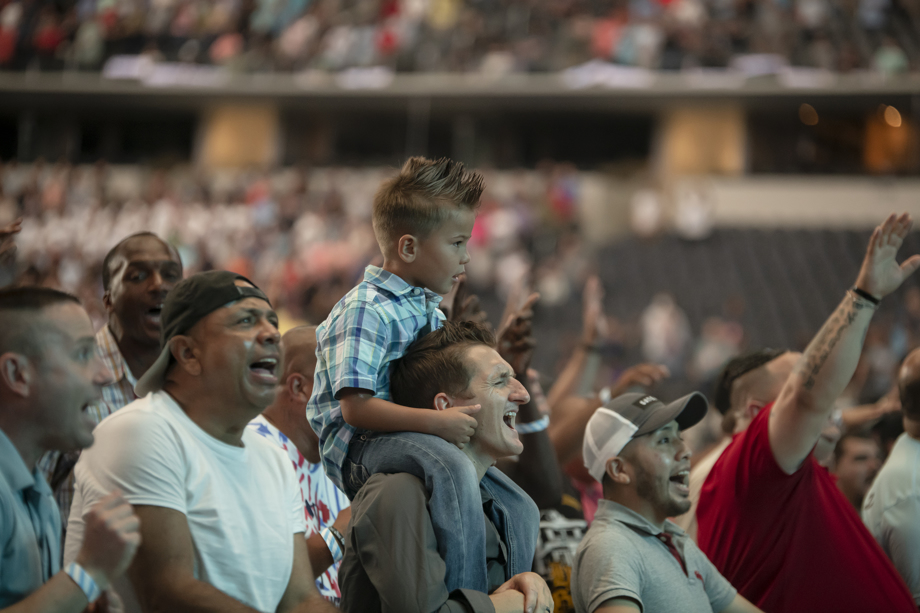 Promise Keepers event AT&T Stadium