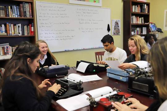 Typewriters for creative writing?