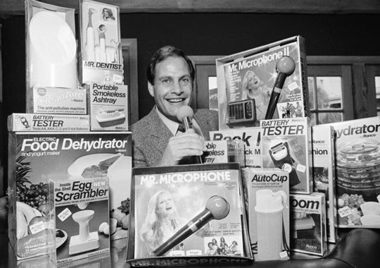 Ron Popeil and his gadgets