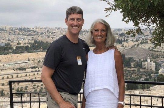 Jonathan Lotz and Anne Graham Lotz