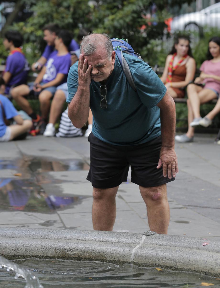 July heat wave hits US