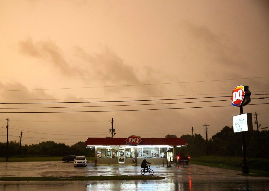 Tropical Storm Nicholas approaches