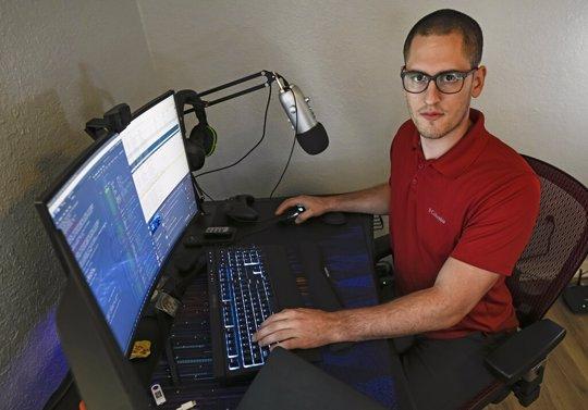 Cybersecutity Pro Ausitn Moody got DOD scholarship