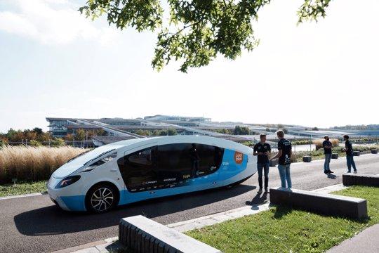 Solar Powered Van