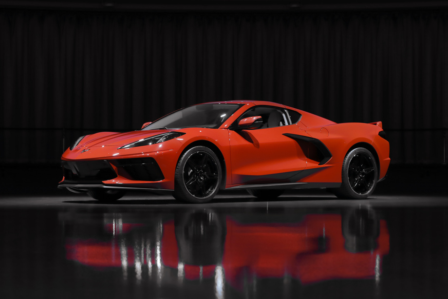 New Red 2020 Chevrolet Corvette