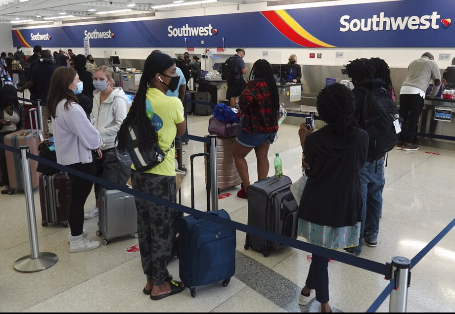 Southwest Airlines ticket counter