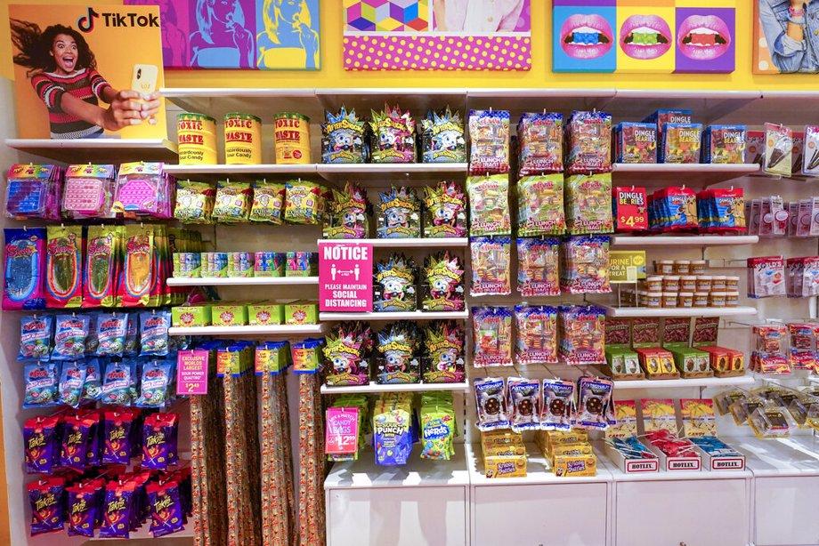 Candy featured in TikTok videos