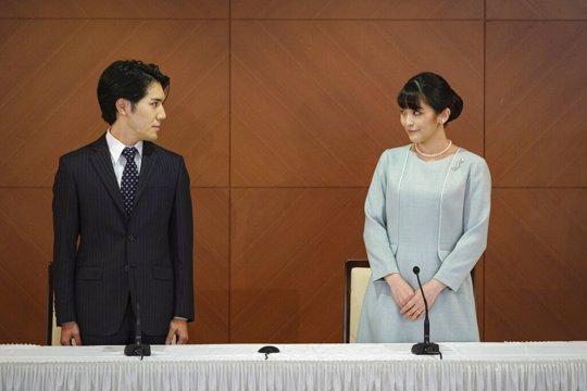 Princess Mako and husband Kei Komuro