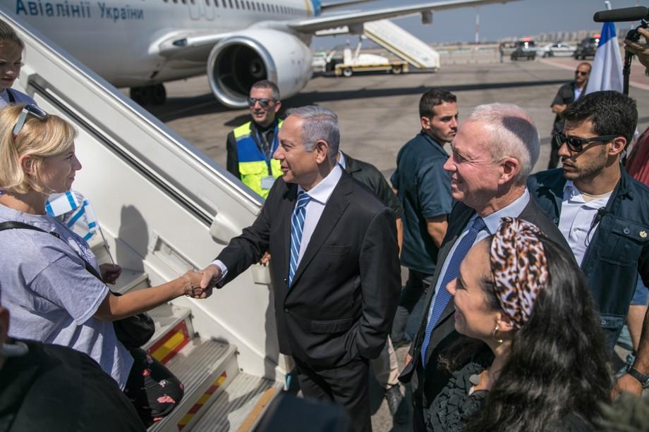 Netanyahu welcomes Ukraine Jews