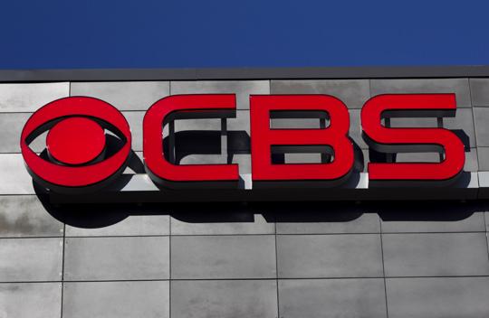 CBS signage