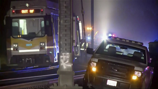 Sacramento Light Rail Train Accident