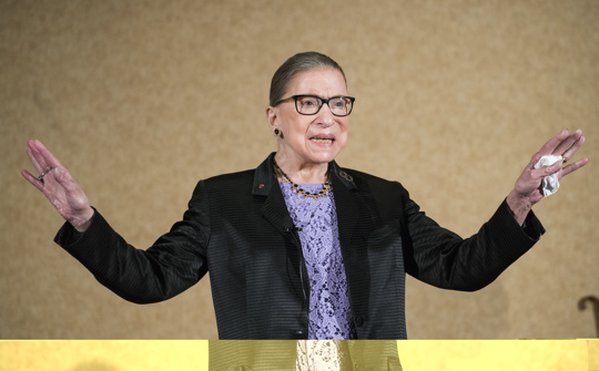 Ginsburg has completed radiation therapy for the cancerous tumor
