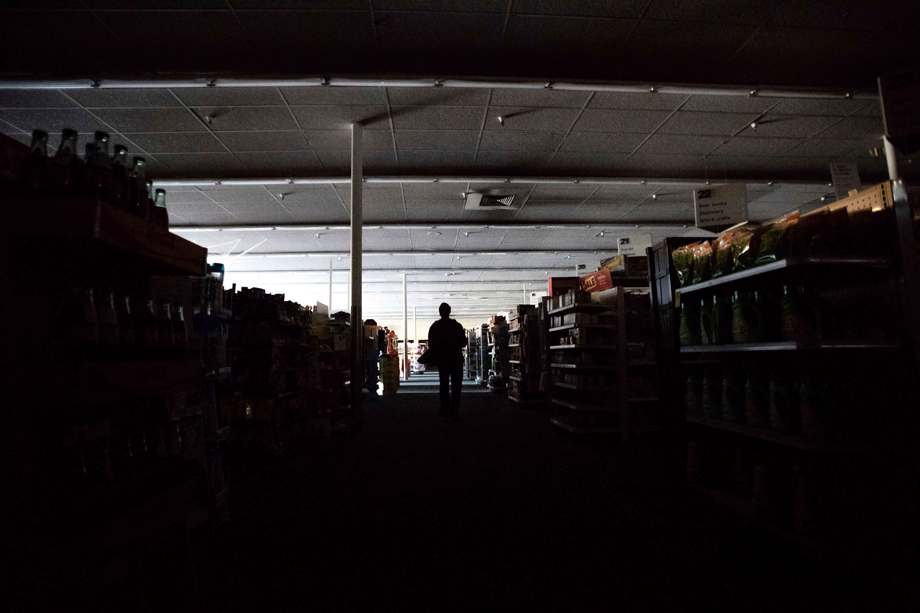 Power outage at CVS Pharmacy in California
