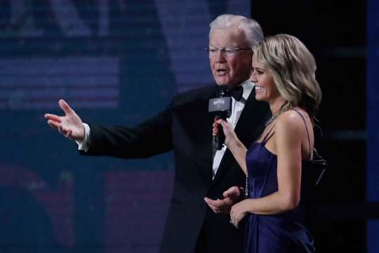 Joe Gibbs awarded by NASCAR