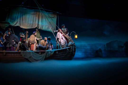Jesus  stage production- Sight and Sound Theatres