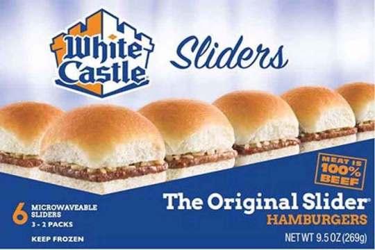White Castle Frozen Burgers