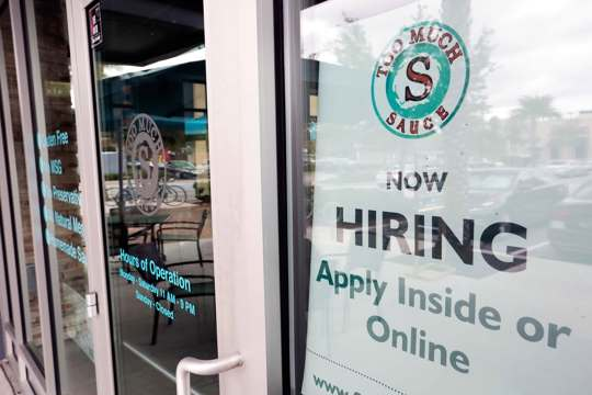 Small Business Now Hiring Sign